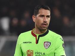 Marco Borriello, attaccante del Cagliari. Getty Images