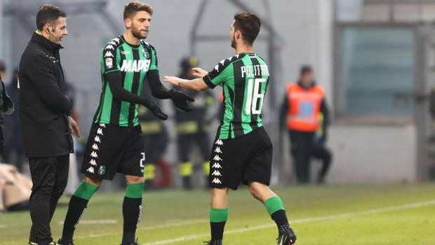 Domenico Berardi, 22, takes over from Politano, 23: back on the field after four and a half months.  Handle