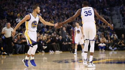 Steph Curry e Kevin Durant.