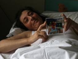 Vincenza Sicari in ospedale