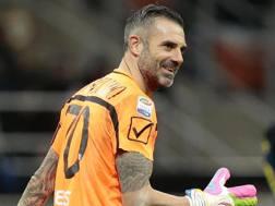 Stefano Sorrentino, portiere del Chievo. Ansa