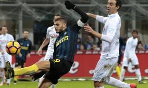 Mauro Icardi firma l'1-1. Ansa