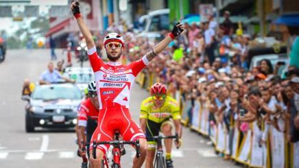 La vittoria di Stefano Bonusi, 24 anni