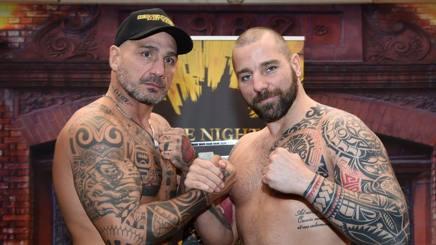 Giacobbe Fragomeni (Sap fighting style), 47 anni, con l'ungherese Tamas Polster, 36 BOZZANI