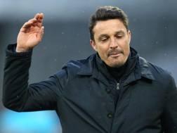Massimo Oddo, allenatore del Pescara. Afp