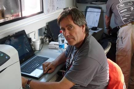 Tiziano Siviero, ex iridato rally con Biasion sulla Lancia Delta, ora consulente alla Dakar.