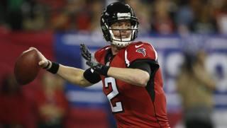 Matt Ryan, quarteback degli Atlanta Falcons. Reuters