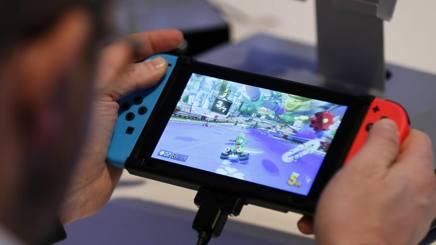 La nuova Nintendo Switch.