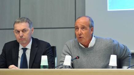 Stefano Farina e Giampiero Ventura. LaPresse