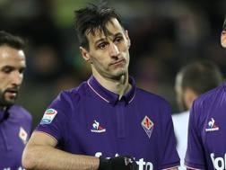 Nikola Kalinic, 29 anni, attaccante croato della Fiorentina. Getty Images