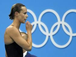 Federica Pellegrni a Rio 2016. Ap