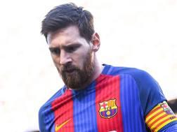 Lionel Messi, attaccante del Barcellona. Getty Images