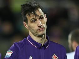 Nikola Kalinic, attaccante della Fiorentina. Getty Images
