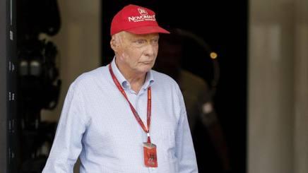 Niki Lauda, tre titoli in F.1. Epa