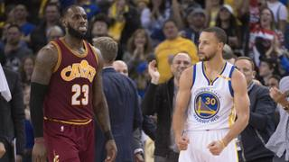 James LeBron e Steph Curry.
