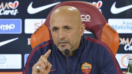Luciano Spalletti, tecnico della Roma. Getty
