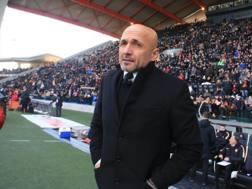 Luciano Spalletti, tecnico della Roma. Ansa