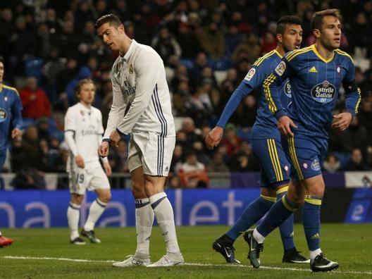 L'espressione di Ronaldo dice tutto. Reuters