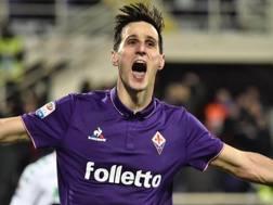 Nikola Kalinic, 29 anni, attaccante croato della Fiorentina. Ansa