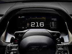 L'innovativo display adattativo della Ford GT