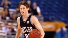 Gordon Hayward, ora a Utah, ha giocato due anni con Butler. Afp