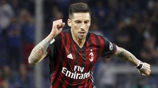 José Ernesto Sosa, 31 anni, centrocampista argentino del Milan. LaPresse