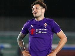 Mauro Matías Zárate, 29 anni, attaccante argentino della Fiorentina. LaPresse