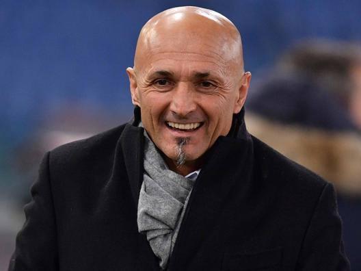 Luciano Spalletti, 57 anni, allenatore della Roma. LaPresse