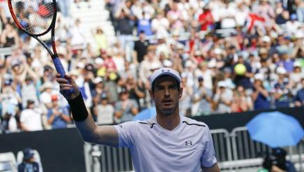 Andy Murray, n°1 al mondo. Epa