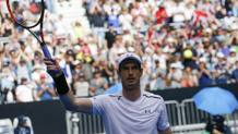 Andy Murray, n°1 al mondo. Epa
