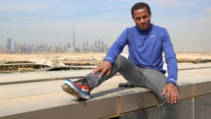 Kenenisa Bekele, 34 anni, ieri a Dubai. Colombo