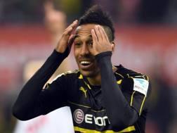 Pierre-Emerick Aubameyang, 27 anni, attaccante gabonese del Borussia Dortmund. Epa