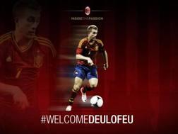 L'annuncio del Milan sul proprio profilo Twitter.