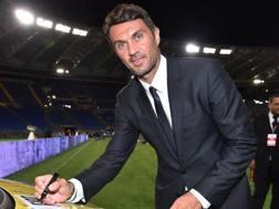 Paolo Maldini, 48 anni, ex difensore del Milan. Getty Images