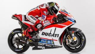 MotoGP, ecco la Ducati 2017 di Lorenzo e Dovizioso