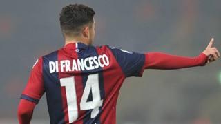 Federico Di Francesco, primo anno al Bologna. Lapresse