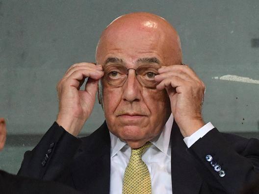 Adriano Galliani, 73 anni. ANSA