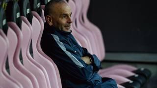 Stefano Pioli sulla panchina di Palermo. Getty
