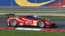 Michele Rugolo in azione sulla 488 del team cinese DH Racing