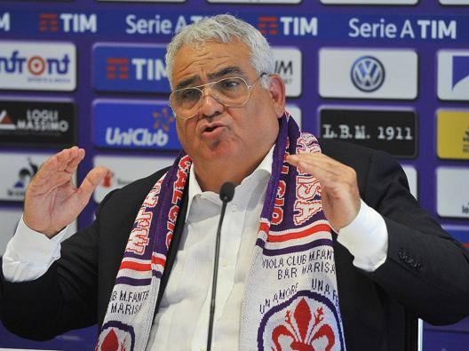 Pantaleo Corvino, 67 anni, direttore generale della Fiorentina. Ansa