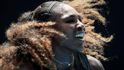 Serena Williams, n°2 al mondo. Epa