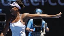 La gioia di Venus Williams. Ap