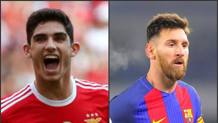 Guedes e Messi