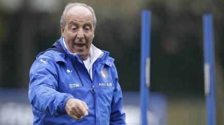 Giampiero Ventura, 69 anni, c.t. dell'Italia. Ap