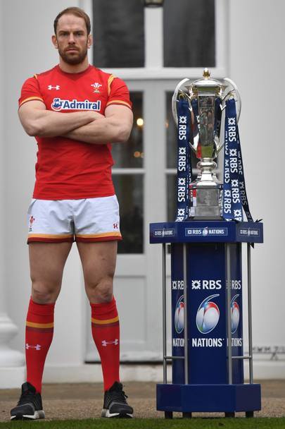 Alun Wyn Jones, Galles (Afp)