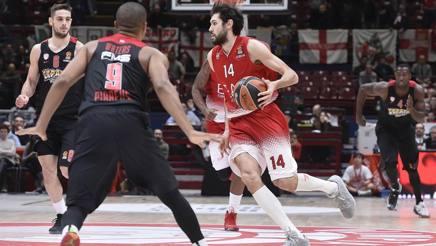 Davide Pascolo straordinario contro l'Olympiacos. CiamCast