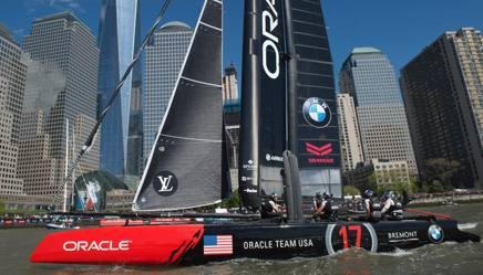 Oracle ha strappato la Coppa ad Alinghi nel 2010
