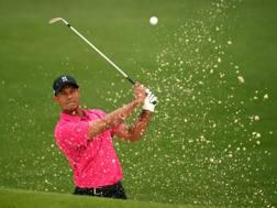 Tiger Woods, 41 anni, AFP