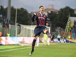 Diego Falcinelli, tripletta contro l'Empoli. LaPresse