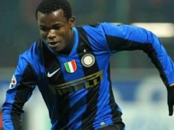 Victor Obinna, 30 anni, qui ai tempi dell'Inter